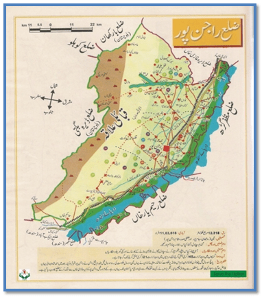 Sulaiman Range Map