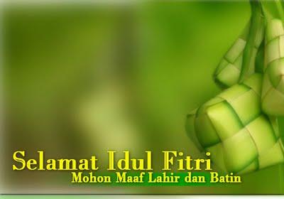 Kartu Lebaran Ucapan Selamat Idul Fitri 1430h
