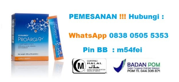 pesan Distributor Proargi 9 Plus Synergy Worldwide Harga di Tanjung Duren Utara Jakarta Barat 0838 0505 5353