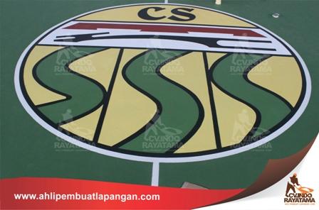 hasil dari branding lapangan, bikin logo lapangan olahraga, sekian tips dan trik dari ahli pembuat lapangan, kontraktor lapangan murah terbaik