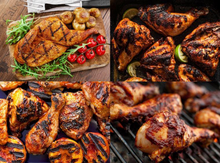 طريقة عمل دجاج مشوي بالكاتشاب والصويا