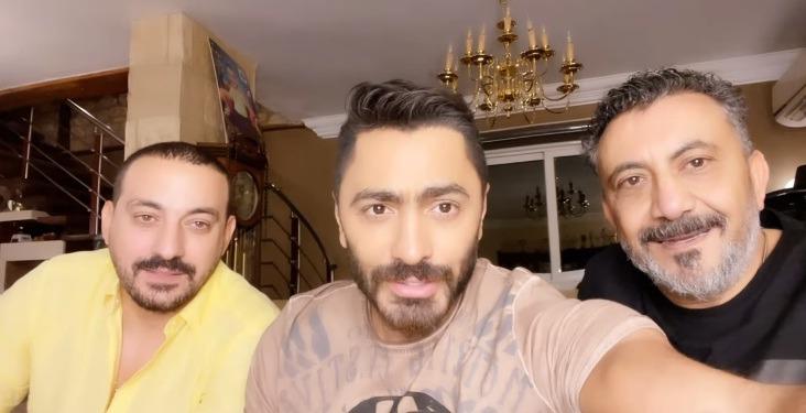 تامر حسني ينجح في الصلح بين الفنان دياب والمنتج نصر محروس