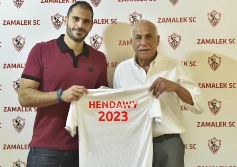 الزمالك يُعلن تعاقده مع كريم هنداوي لمدة عامين وبالتحديد حتى عام 2023