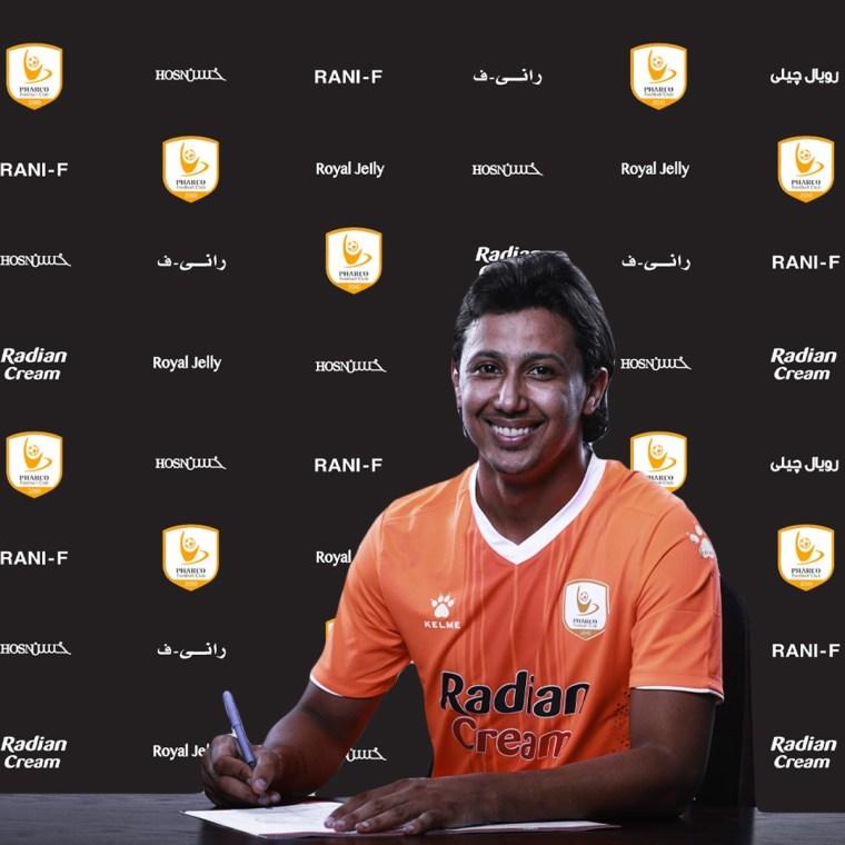 رسميًا فاركو يتعاقد مع عمرو جمال في الصفقة الـ14 لمدة ثلاثة مواسم