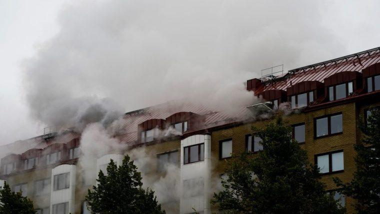 انفجار بمبني سكني في غوتنبرغ بالسويد وإصابة 25 شخصاً