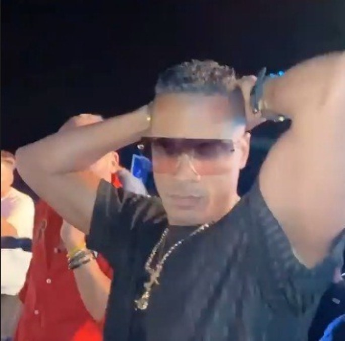 أول ظهور لحسن شاكوش في حفل بالساحل بعد قرار وقفه عن الغناء لمدة شهر من قبل نقابة الموسيقين