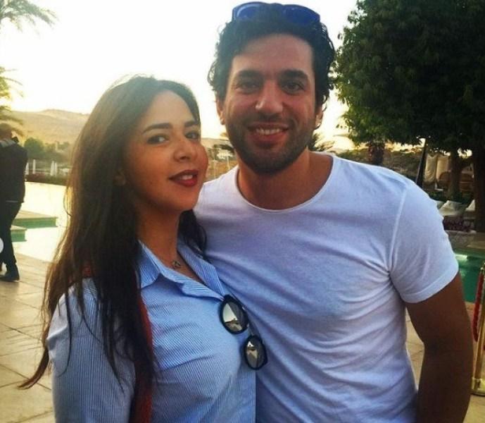 حسن الرداد يدعم زوجته إيمي سمير غانم برسالة موضحا حالتها النفسية