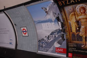 Laax in the Subway