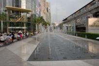 Skytrain at Siam Center