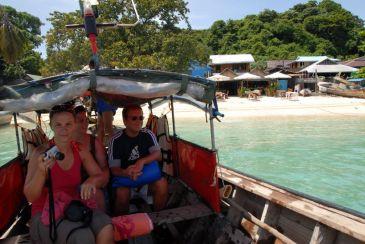 Boat trip to Phi Phi Leh
