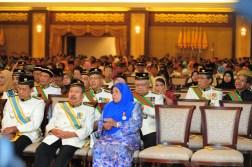 Istiadat Menyembah Tahniah & Penganugerahan Darjah-Darjah Serta Bintang-Bintang Kebesaran Sempena Sambutan Ulang Tahun Hari Keputeraan Kebawah DYMM Tuanku Sultan Kedah Darul Aman Ke-85 Tahun 2013