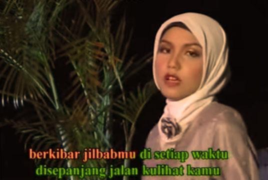 lirik lagu Jilbab Putih Nasyida Ria