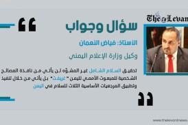 """سؤال وجواب.. وكيل وزارة الإعلام اليمني """"فياض النعمان"""""""