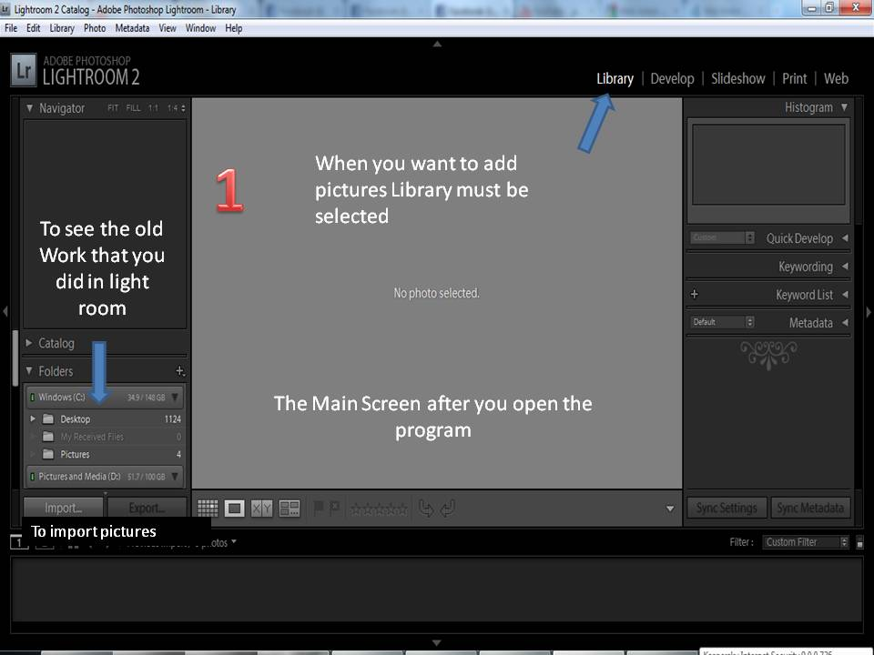 How to use Adobe light room ? (2/6)