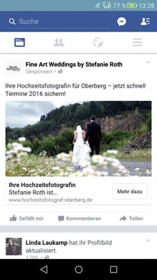 Besonders fleißig, was Social Media Marketing angeht.