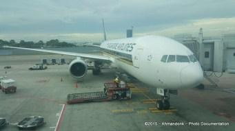Tiba di Changi Airport T3