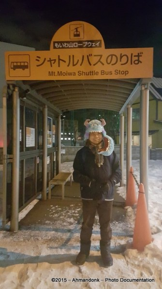 Mt. Moiwa Shuttle Bus Stop