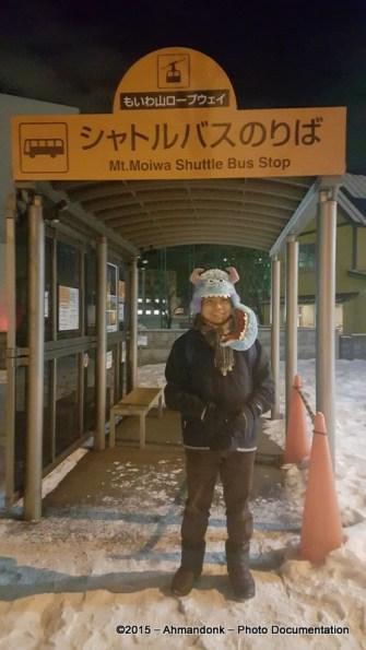 Mt. Moiwa Shuttle Bus Stop