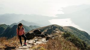 Hong Kong's hiking trails bring breathtaking views of the coastline and skyline.