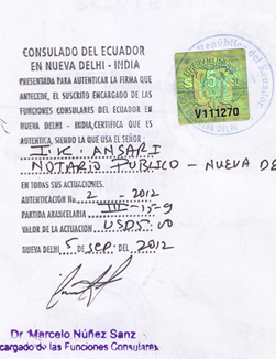 Agreement Attestation for Ecuador in Mundra, Agreement Legalization for Ecuador , Birth Certificate Attestation for Ecuador in Mundra, Birth Certificate legalization for Ecuador in Mundra, Board of Resolution Attestation for Ecuador in Mundra, certificate Attestation agent for Ecuador in Mundra, Certificate of Origin Attestation for Ecuador in Mundra, Certificate of Origin Legalization for Ecuador in Mundra, Commercial Document Attestation for Ecuador in Mundra, Commercial Document Legalization for Ecuador in Mundra, Degree certificate Attestation for Ecuador in Mundra, Degree Certificate legalization for Ecuador in Mundra, Birth certificate Attestation for Ecuador , Diploma Certificate Attestation for Ecuador in Mundra, Engineering Certificate Attestation for Ecuador , Experience Certificate Attestation for Ecuador in Mundra, Export documents Attestation for Ecuador in Mundra, Export documents Legalization for Ecuador in Mundra, Free Sale Certificate Attestation for Ecuador in Mundra, GMP Certificate Attestation for Ecuador in Mundra, HSC Certificate Attestation for Ecuador in Mundra, Invoice Attestation for Ecuador in Mundra, Invoice Legalization for Ecuador in Mundra, marriage certificate Attestation for Ecuador , Marriage Certificate Attestation for Ecuador in Mundra, Mundra issued Marriage Certificate legalization for Ecuador , Medical Certificate Attestation for Ecuador , NOC Affidavit Attestation for Ecuador in Mundra, Packing List Attestation for Ecuador in Mundra, Packing List Legalization for Ecuador in Mundra, PCC Attestation for Ecuador in Mundra, POA Attestation for Ecuador in Mundra, Police Clearance Certificate Attestation for Ecuador in Mundra, Power of Attorney Attestation for Ecuador in Mundra, Registration Certificate Attestation for Ecuador in Mundra, SSC certificate Attestation for Ecuador in Mundra, Transfer Certificate Attestation for Ecuador