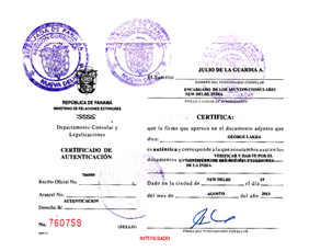 Agreement Attestation for Panama in Bhuj, Agreement Legalization for Panama , Birth Certificate Attestation for Panama in Bhuj, Birth Certificate legalization for Panama in Bhuj, Board of Resolution Attestation for Panama in Bhuj, certificate Attestation agent for Panama in Bhuj, Certificate of Origin Attestation for Panama in Bhuj, Certificate of Origin Legalization for Panama in Bhuj, Commercial Document Attestation for Panama in Bhuj, Commercial Document Legalization for Panama in Bhuj, Degree certificate Attestation for Panama in Bhuj, Degree Certificate legalization for Panama in Bhuj, Birth certificate Attestation for Panama , Diploma Certificate Attestation for Panama in Bhuj, Engineering Certificate Attestation for Panama , Experience Certificate Attestation for Panama in Bhuj, Export documents Attestation for Panama in Bhuj, Export documents Legalization for Panama in Bhuj, Free Sale Certificate Attestation for Panama in Bhuj, GMP Certificate Attestation for Panama in Bhuj, HSC Certificate Attestation for Panama in Bhuj, Invoice Attestation for Panama in Bhuj, Invoice Legalization for Panama in Bhuj, marriage certificate Attestation for Panama , Marriage Certificate Attestation for Panama in Bhuj, Bhuj issued Marriage Certificate legalization for Panama , Medical Certificate Attestation for Panama , NOC Affidavit Attestation for Panama in Bhuj, Packing List Attestation for Panama in Bhuj, Packing List Legalization for Panama in Bhuj, PCC Attestation for Panama in Bhuj, POA Attestation for Panama in Bhuj, Police Clearance Certificate Attestation for Panama in Bhuj, Power of Attorney Attestation for Panama in Bhuj, Registration Certificate Attestation for Panama in Bhuj, SSC certificate Attestation for Panama in Bhuj, Transfer Certificate Attestation for Panama