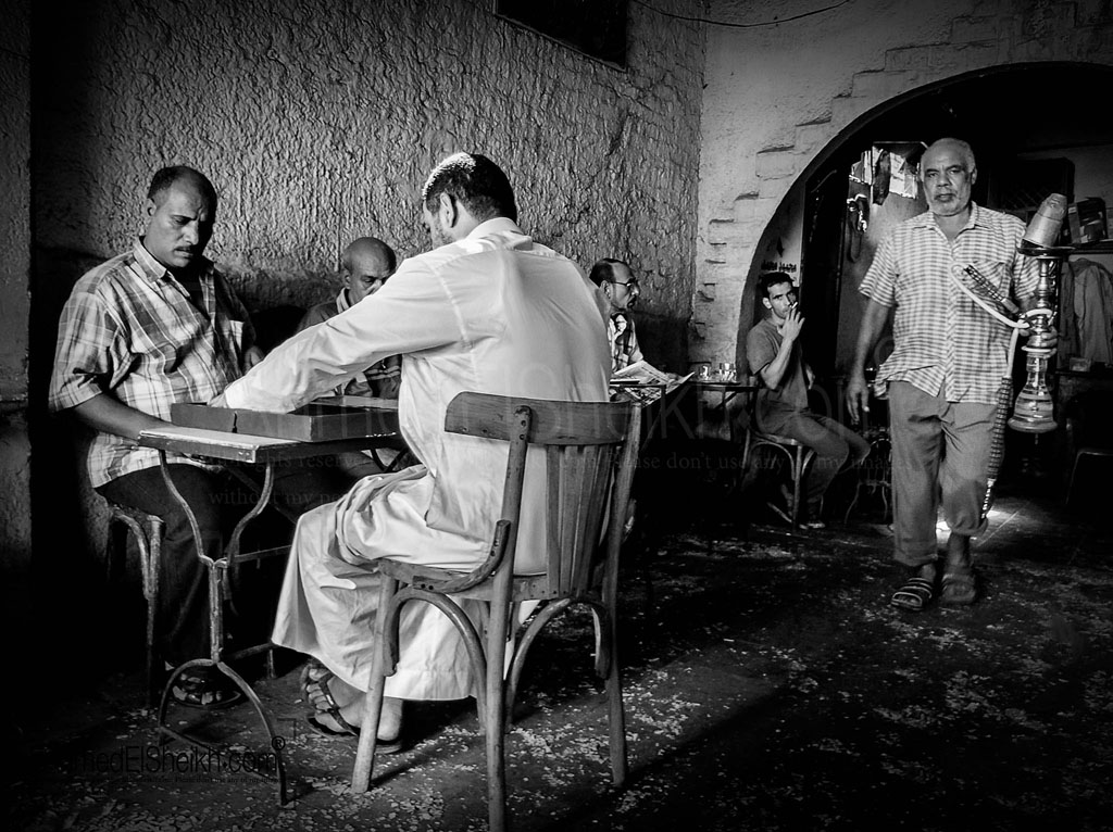 Local Cafe-- in Old cairo