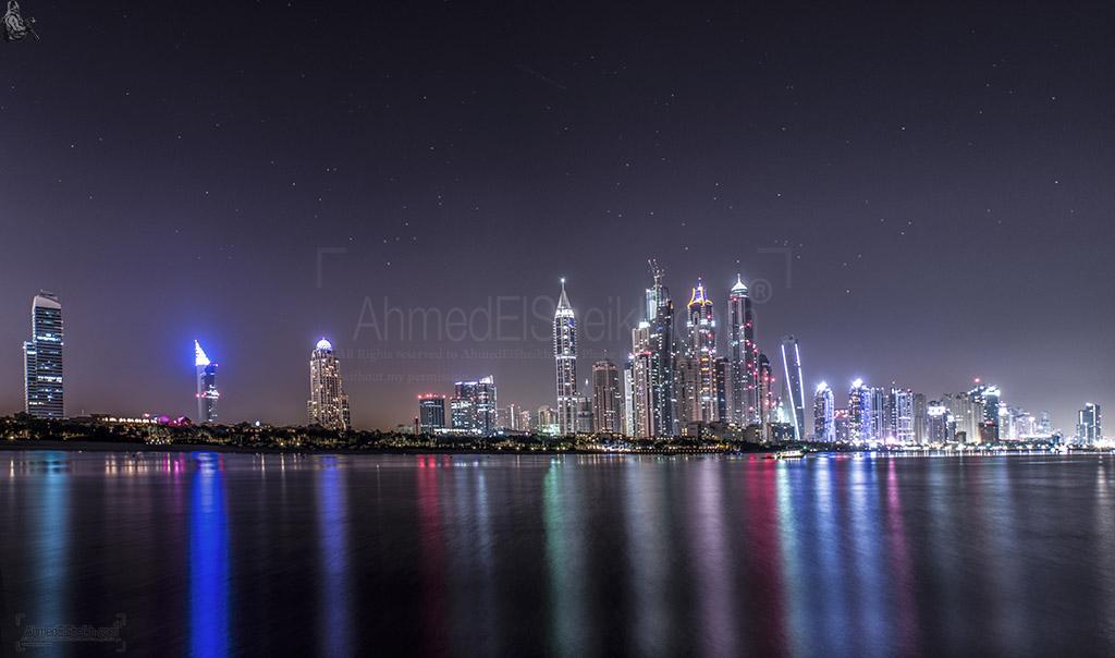 Dubai Sky Line Panorama