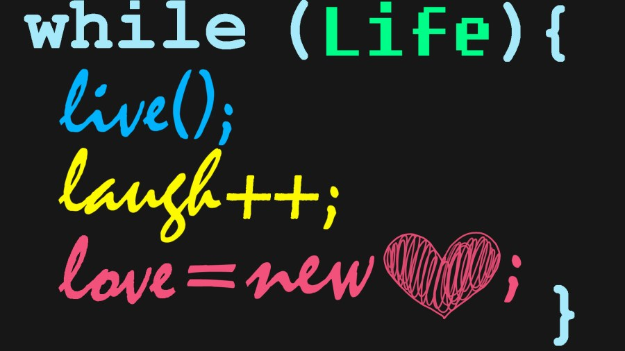 Romance.js while life is coding it means love