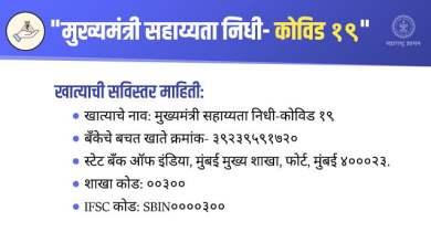 Photo of मुंबई उच्च न्यायालयाकडून मुख्यमंत्री सहाय्यता निधीस २ कोटी ५१ लाख रुपयांची मदत