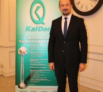 KALDER BURSA ŞUBESİ BAŞKANI ERDAL ELBAY
