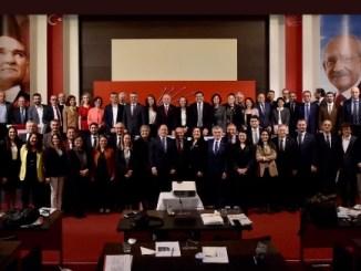 CHP PARTİ MECLİSİ SON TOPLANTISI ANI FOTOĞRAFI GAMZE PAMUK ATEŞLİ