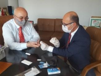 DR MURAT UNAL KORONAViRUS TESTi TURKLAB