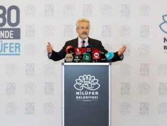 NiLUFER BELEDiYE BASKANI TURGAY ERDEM