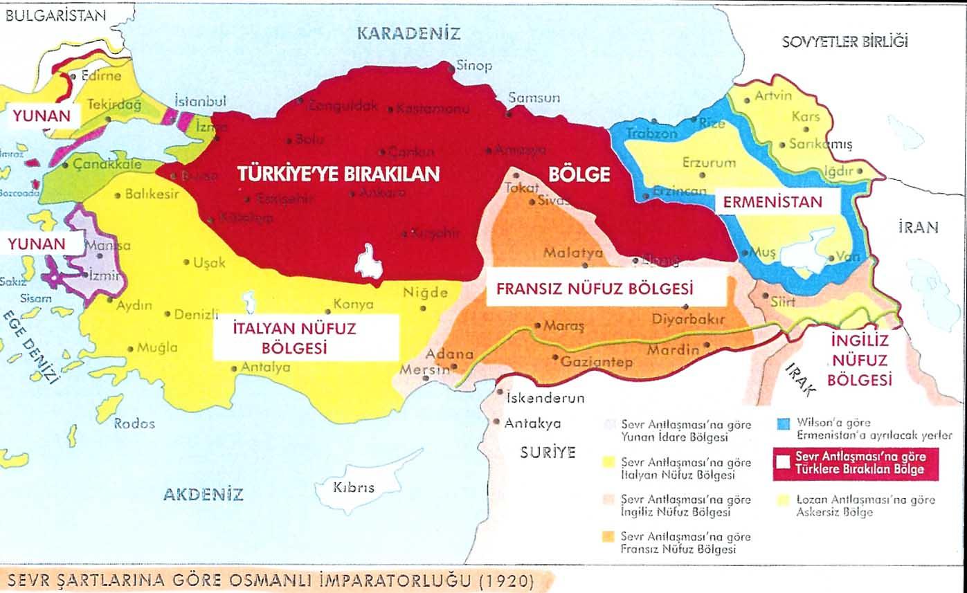 Image result for sevr haritası