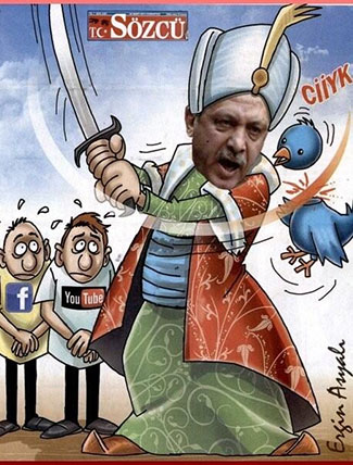 Tayyip_Twitter_kusşarini_dogruyor_22.3.14_SOZCU