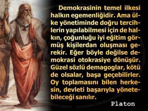 Platon_ve_Demokrasi