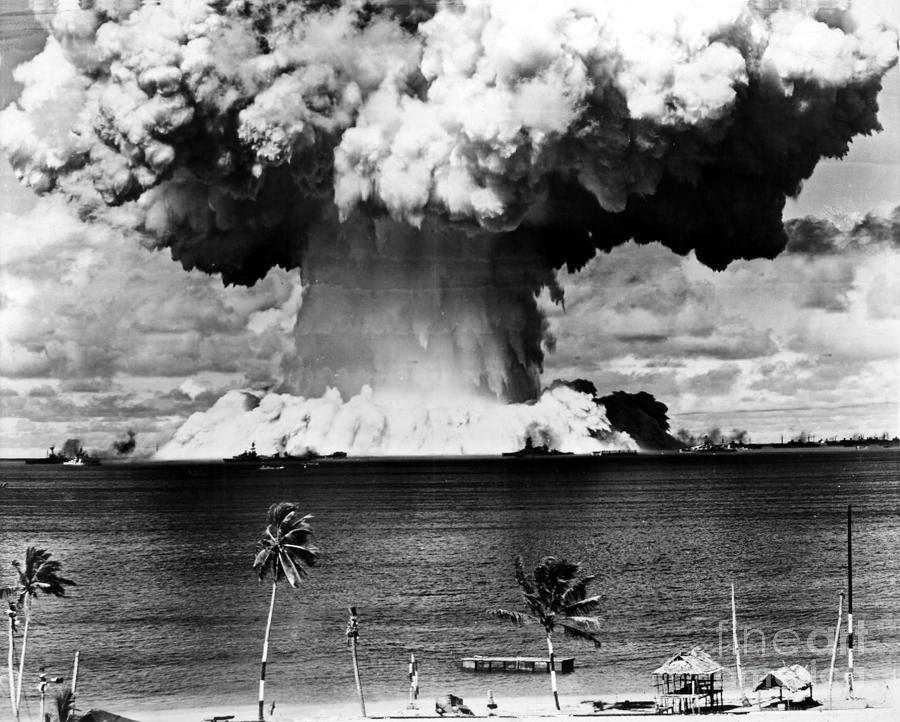Bikini atoll bombing, black women with vibrators naked