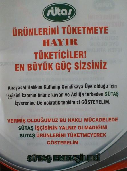 SUTAS'a_boykot