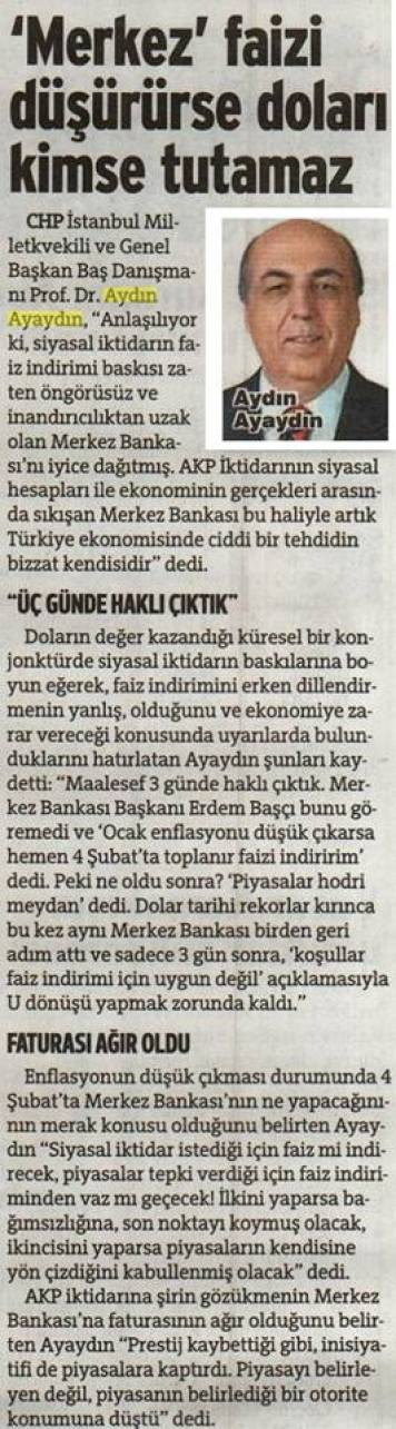 TCMB_Faizi_dusuruse_Dolari_kimse_tutamaz_AYDIN_AYAYDIN_SOZCU_3.2.15
