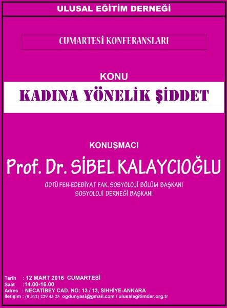 C. K. Sibel Kalaycıoğlu