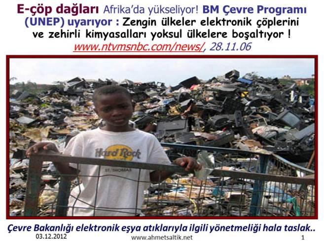 UNEP_elektronik_cop_daglari_yoksul_ulkelere