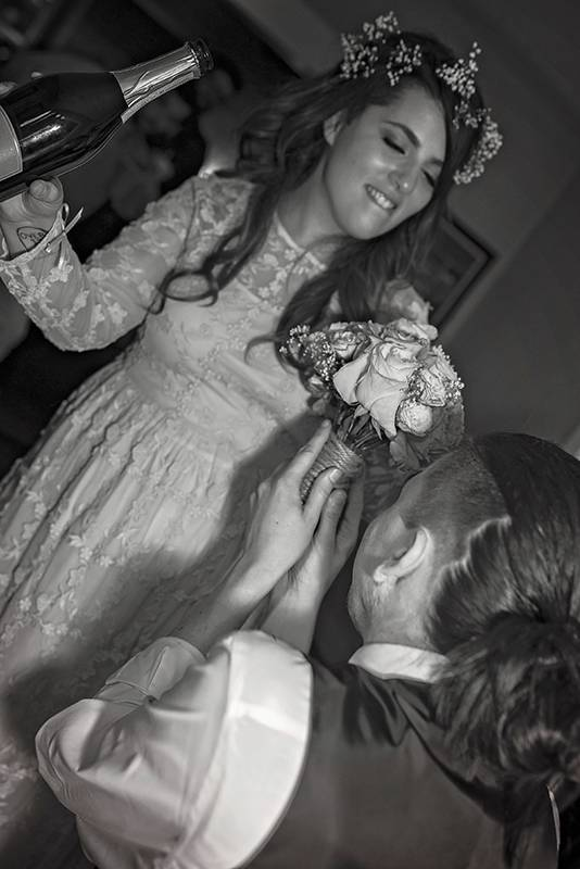 louisiana lafayette unique wedding photographer intimate backyard wedding la romance cenla ceremony creative