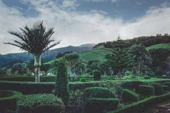 Ein wunderschöner Graten am Aussichtspunkt hieter Nordeste.
