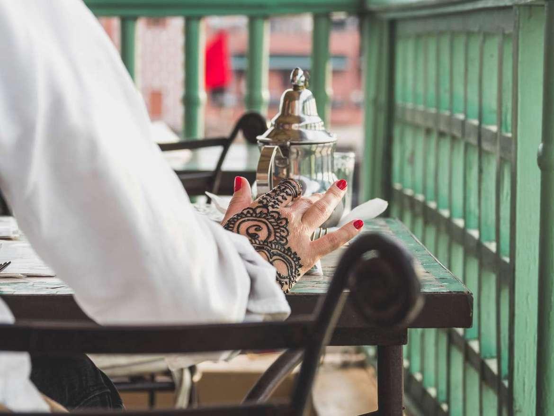 Henna Tattoo in Marrakesch