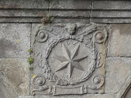 Stern in Santiago de Compostela