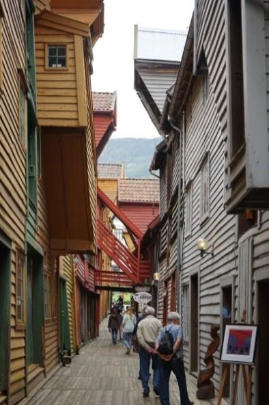 Bryggen - historische Handelskontore