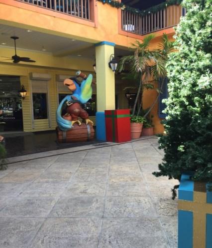 Grand Cayman Piraten Papagei und Geschenke