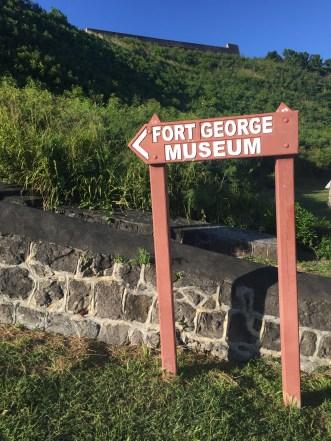 Brimstone Hill - Fort George Museum