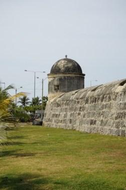 Ein Teil des ummauerten Stadtkerns