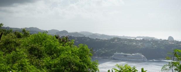 St. Vincent - Blick von Fort Charlotte